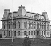 University of Oregon, Deady Hall, circa 1876